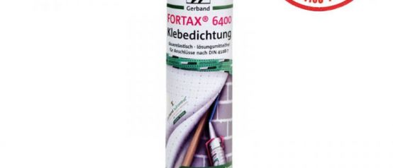 Gerband Fortax 6400 Sealants 310ml Tube DIN4108 50 Year Durability tested