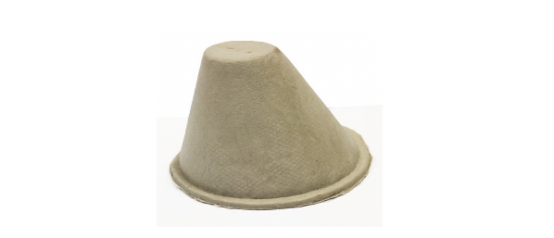 Loft Cone Fire Rated - 30 mins 250 x 180 ext (int. 200 x 140) (CREAM)