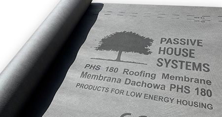 PHS Breather Membrane, Roof/ Façade 180gm 1500mm x 50m