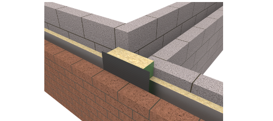 ARC Party Wall DPC 115mm
